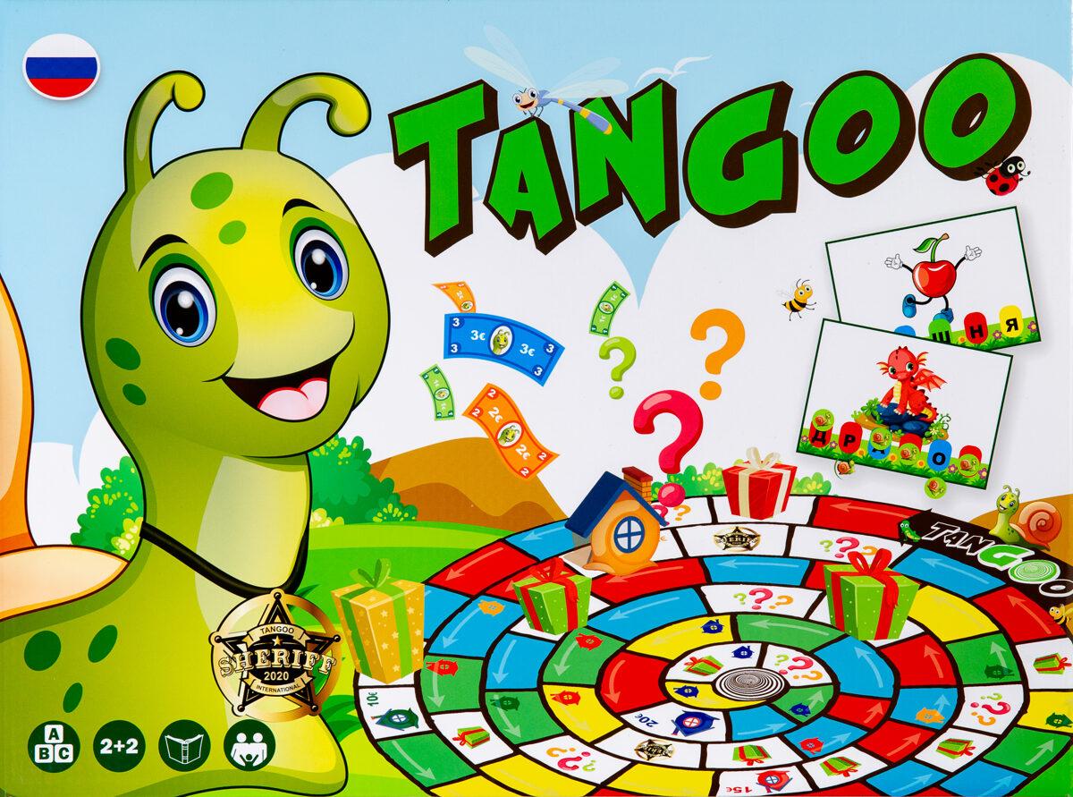 """Настольная игра """"Tangoo""""."""