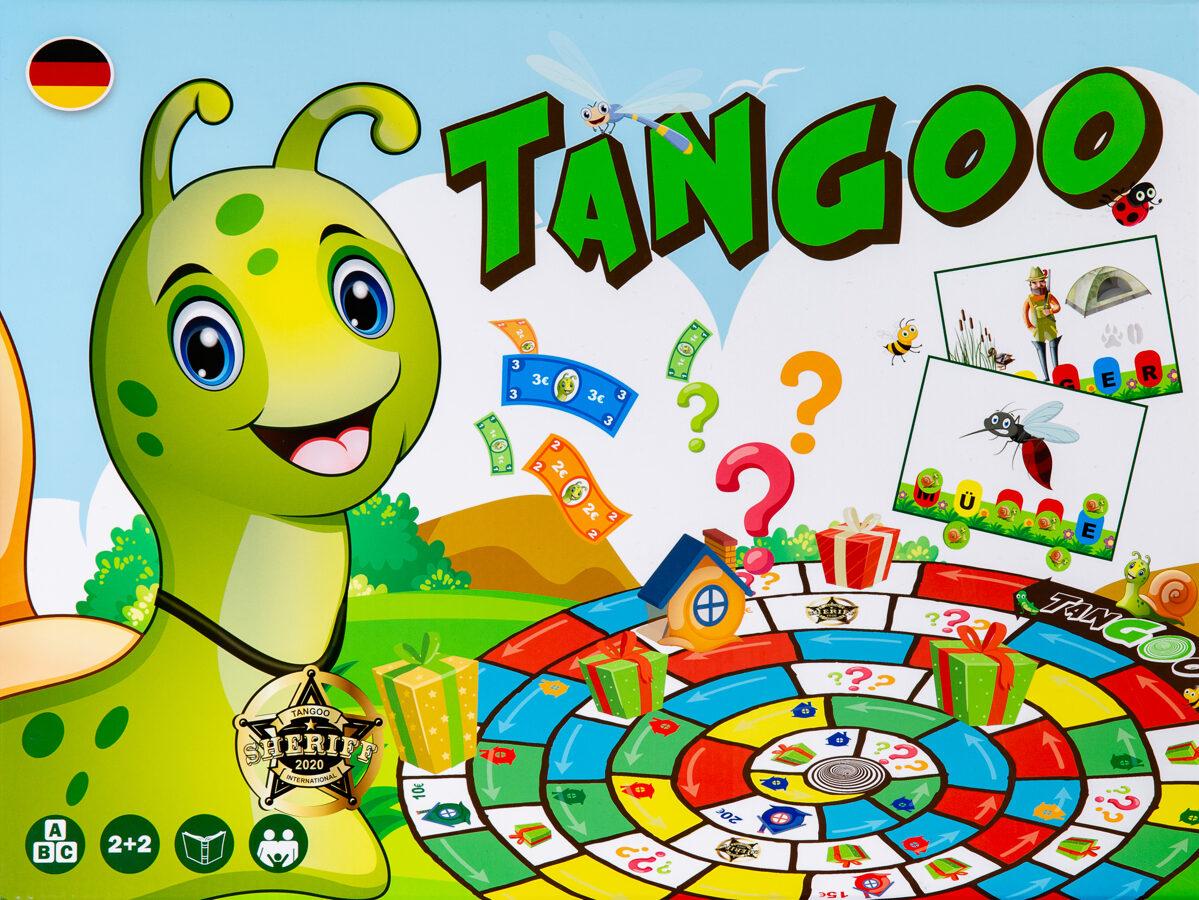"""Brettspiel """"TANGOO""""."""