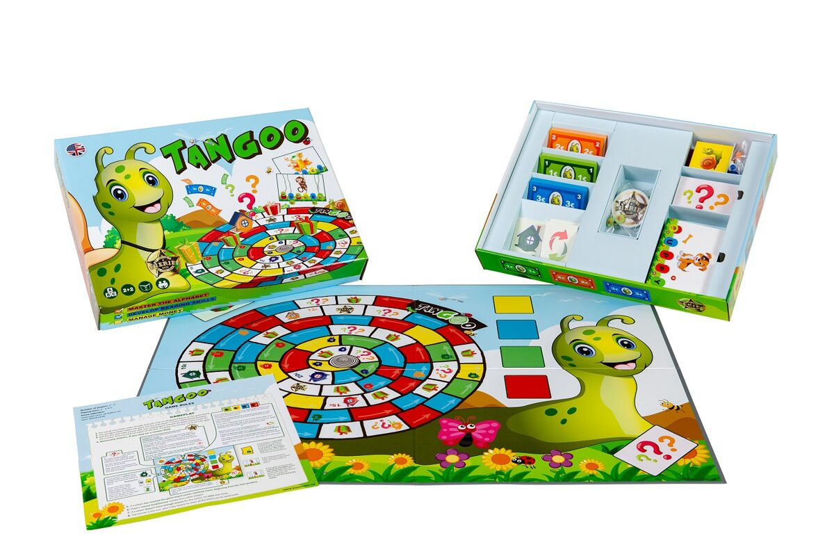 """Board game """"TANGOO""""."""
